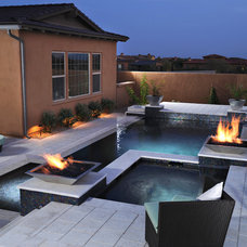 Modern Pool by California Pools & Landscape