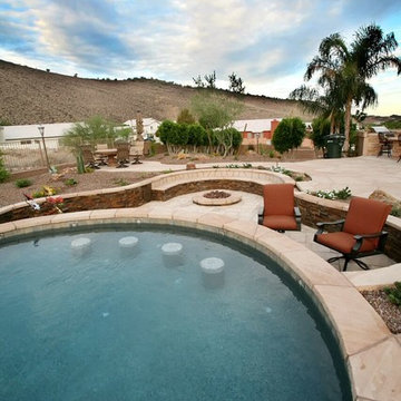 NW Scottsdale Pool & Fire Pit
