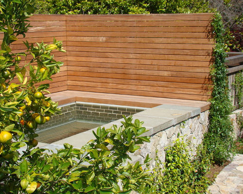 Hot tub privacy screens home design ideas pictures for Pool screen privacy