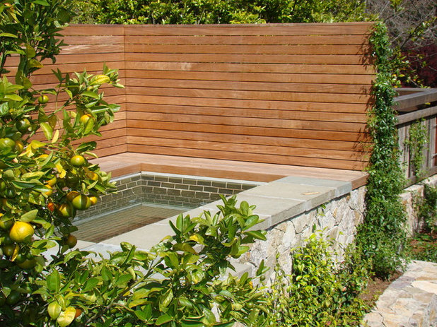 Contemporary Pool by Randy Thueme Design Inc. - Landscape Architecture