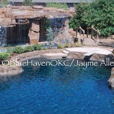 Tropical Pool by J. Allen Designs