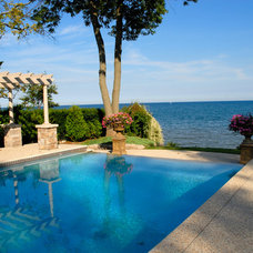 Traditional Pool by Seferian Design Group