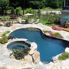 Traditional Pool by Total Pool & Spa LLC