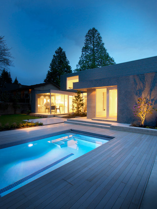 Modern home design photos decor ideas in vancouver for Pool design vancouver