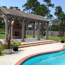 Traditional Pool by My Outdoor Rooms