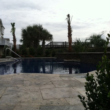 Oceanfront poolscape