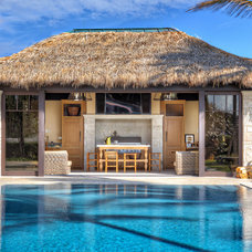 Tropical Pool by Architectural Photographer Ron Rosenzweig