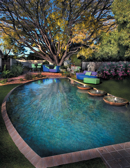 Eclectic Pool by Bianchi Design