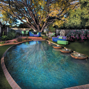 Eclectic pool in Phoenix.