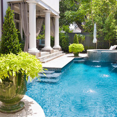traditional pool by Garden Gates