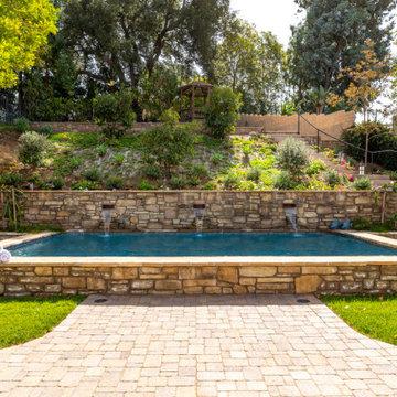 Old World-Inspired Backyard
