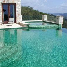 Eclectic Pool by John Pack Custom Pools