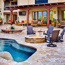Rustic Pool by Denomy Designs