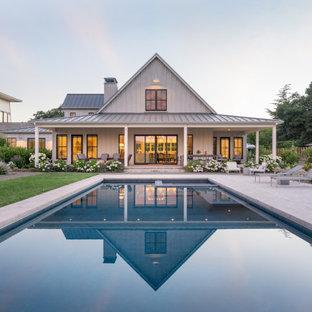 Pool - cottage rectangular pool idea