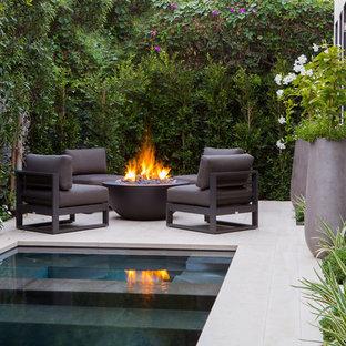 Новые идеи обустройства дома: бассейн в стиле модернизм