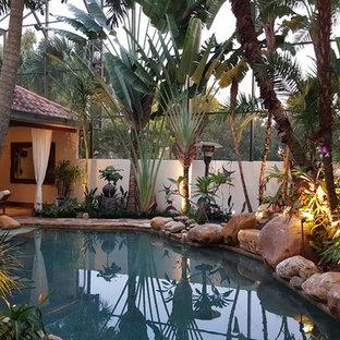 Pool mit Poolhaus in Orlando Ideen, Design & Bilder   Houzz