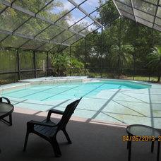 Tropical Pool by Decor By Carol Fisher LLC