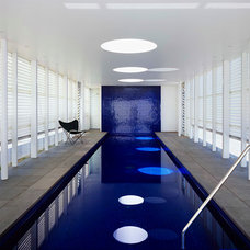 Contemporary Pool by Noxon Giffen