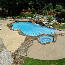 Rustic Pool by Cool Pool