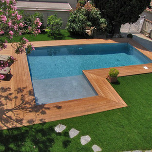 Inspiration for a timeless pool remodel in Other