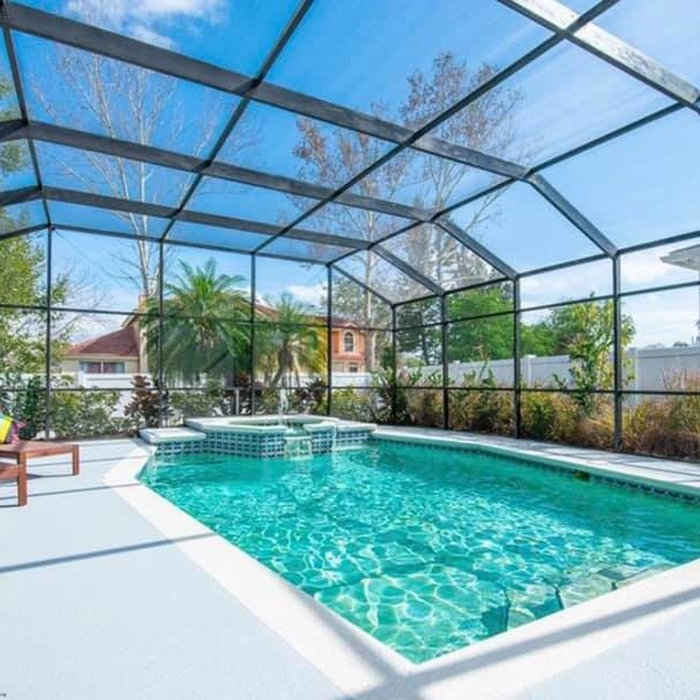 Outdoor Enclosures and Pools