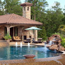 Mediterranean Pool by Morning Star Builders LTD