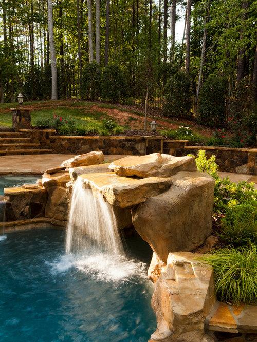 Rock grotto houzz for Demaria landtech