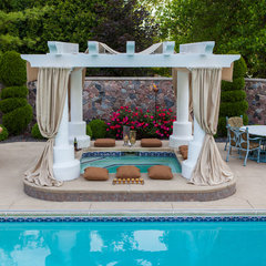 traditional pool by CDI: Choice Designs, Inc.