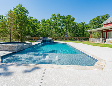 Outdoor Living: fire pits, fireplaces, grills, pergolas and hot tubs and pools..
