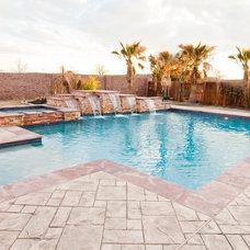 Mediterranean Pool by JMC Designs llc
