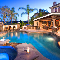 Traditional Pool by Mclaughlin Landscape Construction