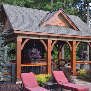 Outdoor Living Space, Pool House