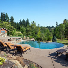 Contemporary Pool by Rick Keating Photographer, RK Productions