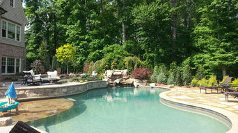 Outdoor Living with Pool Audio