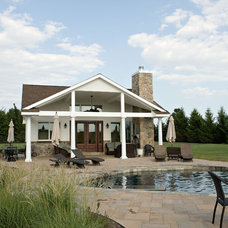 Traditional Pool by Degnan Design Group + Degnan Design Build