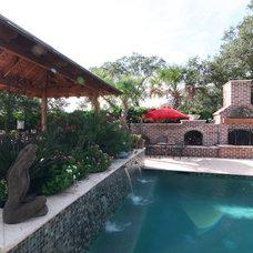 Traditional Pool by AquaBluePools