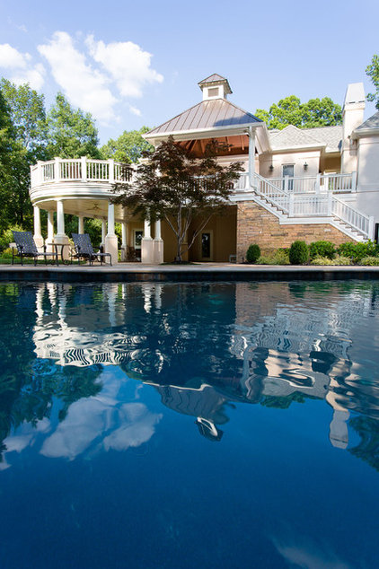 Traditional Pool by MOSAIC Group [Architects and Remodelers]