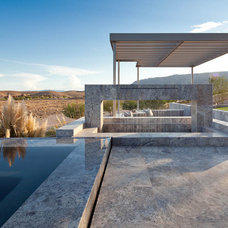 Contemporary Pool by KuDa Photography