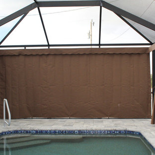 Example of a minimalist pool design in Other
