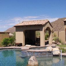 Mediterranean Pool by Intents Construction LLC