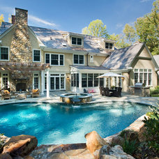 Traditional Pool by Jay Greene Photography