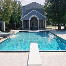 Traditional Pool by Rogan Allen Builders LLC