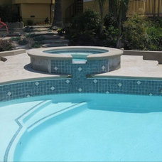 Traditional Pool by Stover Tile and Design