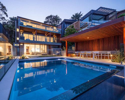 Contemporary Pool Design Ideas, Renovations & Photos