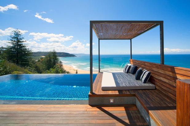 Strandhaus modern  Kleine Fluchten: 27 prächtige Strandhäuser aus aller Welt