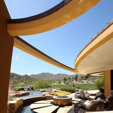 Modern Pool by Deep River Partners