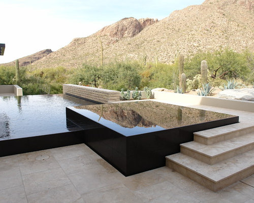 Infinity Edge Hot Tub Home Design Ideas, Pictures, Remodel ...
