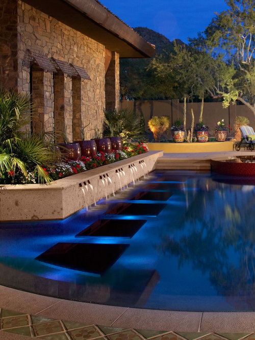 Perimeter Overflow Pool | Houzz