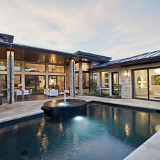 Contemporary Pool by Triton Austin