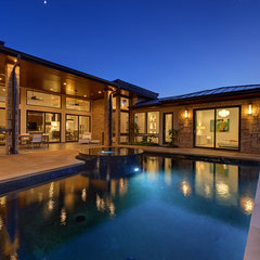 contemporary pool by Triton Austin-Construction Professionals